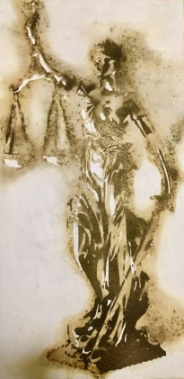Lady Justice (SOLD)