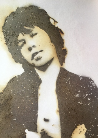 mick jagger gunpowder art